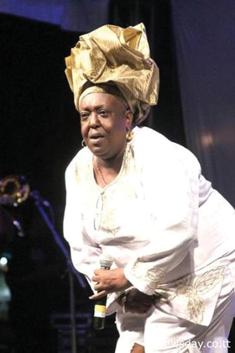 Calypso Icon Singing Sandra here on Nov. 23