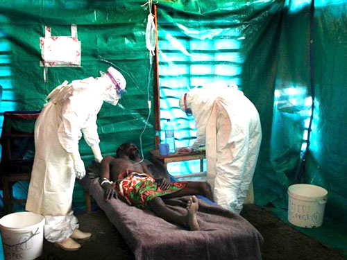 Ebola continues to run rampant
