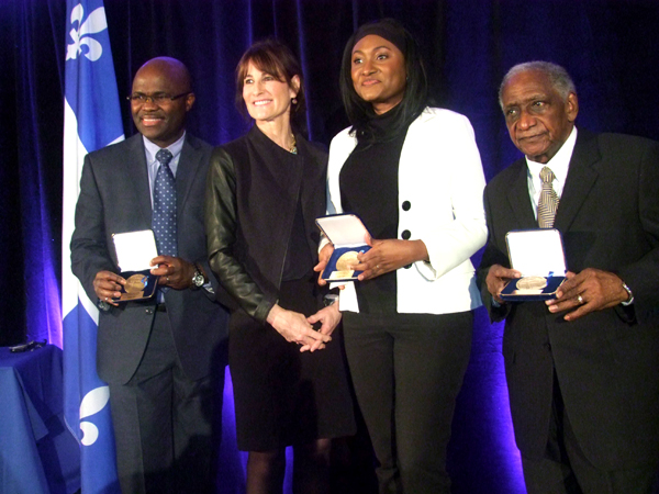 Three community members receive National Assembly Medals