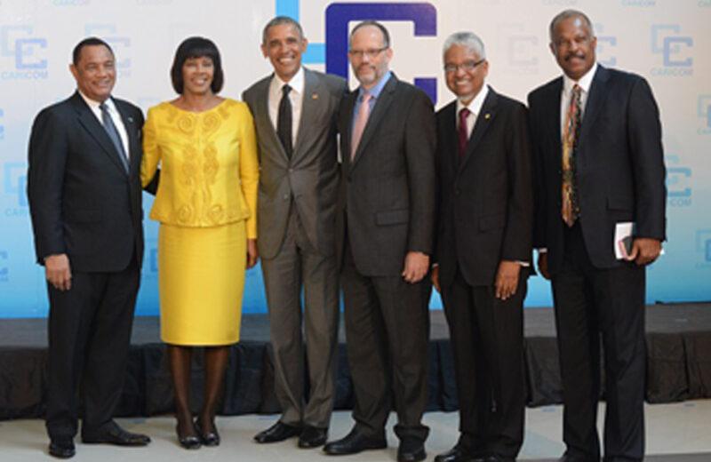 Obama's big on Caricom and Cuba