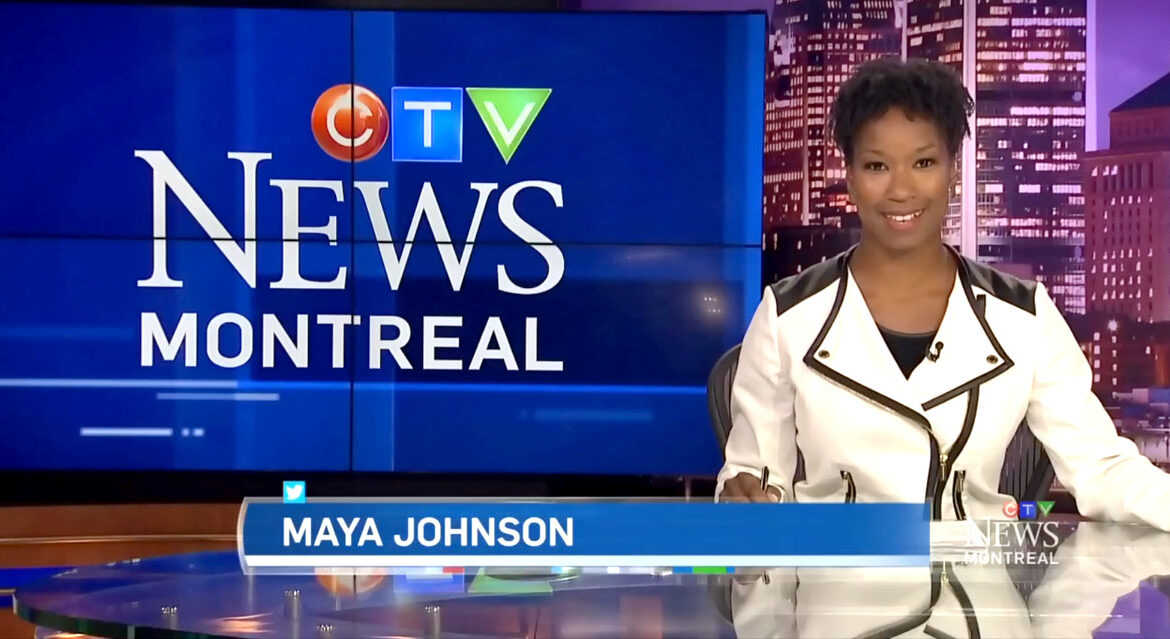See Maya Johnson at the CTV anchor desk