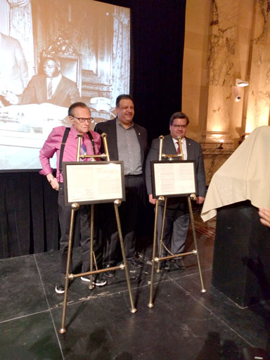JACKIE ROBINSON BASEBALL CONTRACTS UNVEILED  AT MONTREAL CITY HALL
