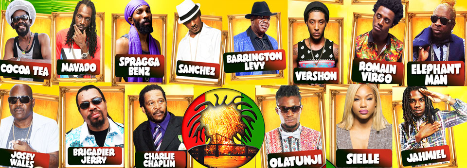 The big names are here for reggae fest 2016