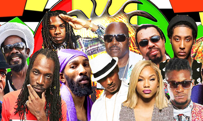 The stage set for Reggae Fest 2016