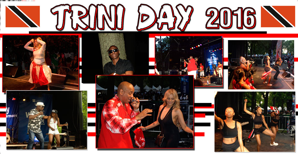 Trini Day: Flags for so
