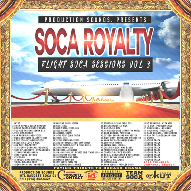 2017 Soca CDs now available