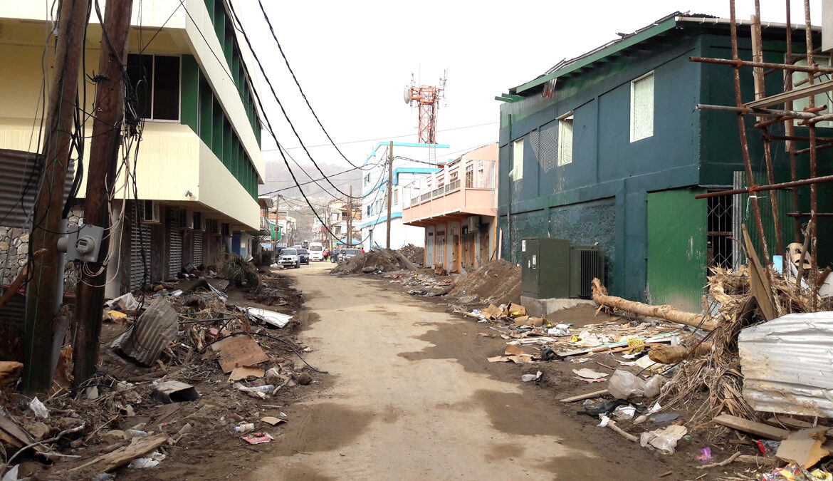 Dominica and the Aftermath of Hurricane Maria