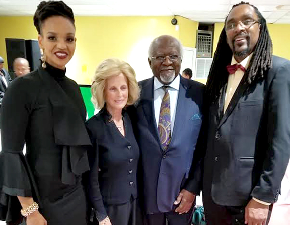 Garvey's message: continue to strive, educate and elevate
