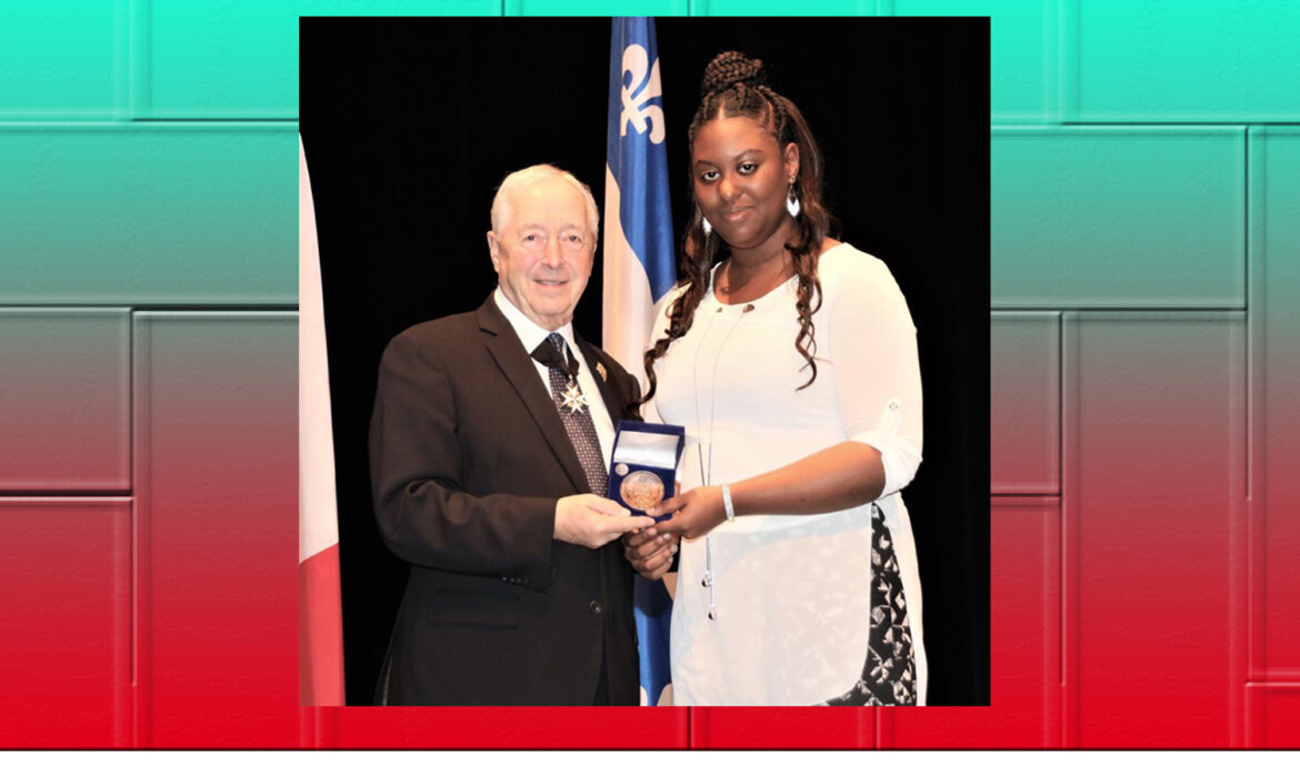 Karlicia Catwell cops the Lieutenant Governor Award