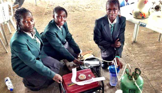 Africa's twenty-first century children are stepping up