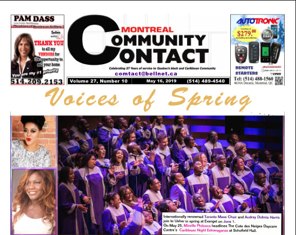 Volume 27 Number 10 Published May 16, 2019