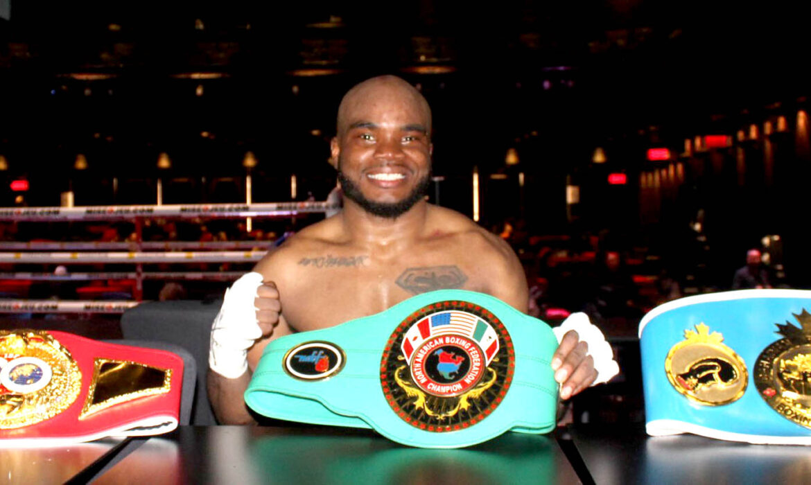 Two more belts for Shakeel The Jamaican Juggernaut Phinn