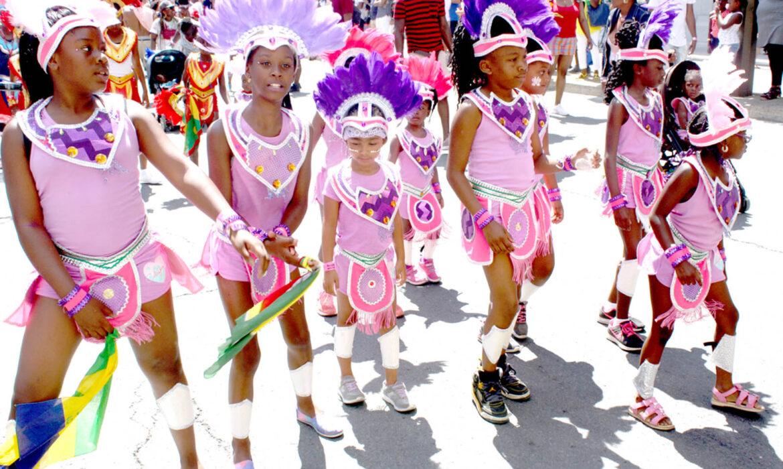 Carifiesta Parade July 6. Kiddies Carnival June 29