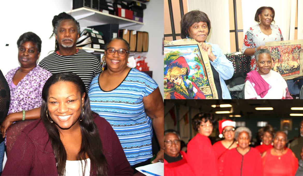 Inter-generational growth at Black Aging community