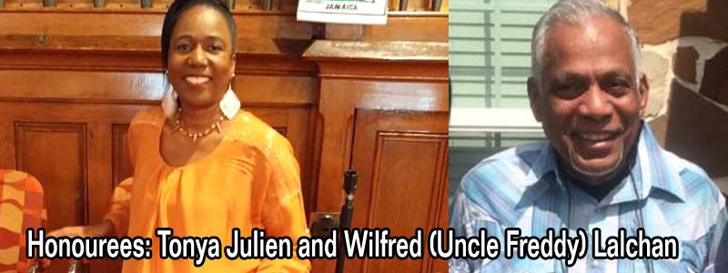 Spotlight on Uncle Freddy Lalchan and Sister Tonya Julien