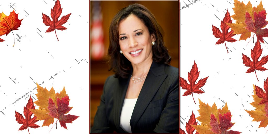 Kamala Harris presents a new face to America by man-handling Pence