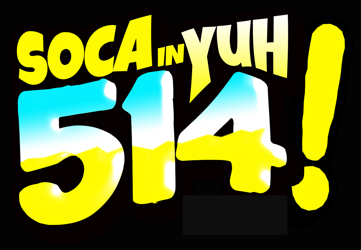 "Music heals depressions. Take in  ""SOCA IN YUH 514"""