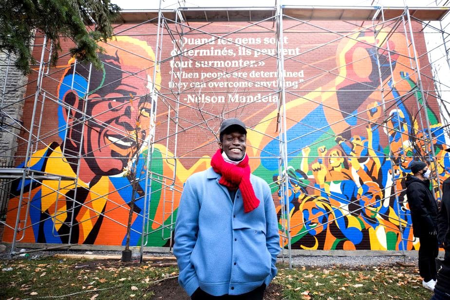 The Mural: About A Young Artist and Nelson Mandela