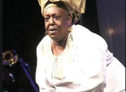 Remembering Singing Sandra:  a Queen and a giant in the calypso world
