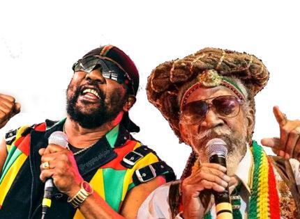 The foundation of reggae: Bunny Wailer and Toots Hibbert