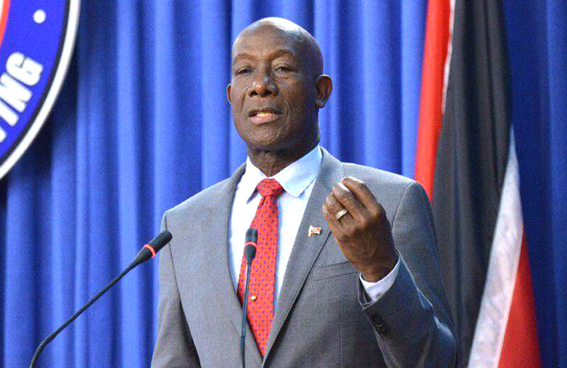 Dr. Keith Rowley tests positive for COVID-19