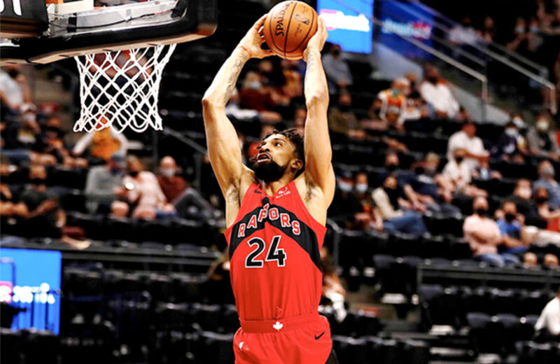 Montreal's Khem Birch Comes To The Toronto Raptors And Ignites The Team