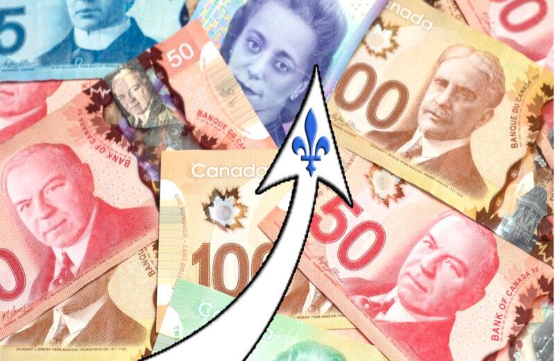 QUEBEC INCREASES MINIMUM WAGE TO $13.50