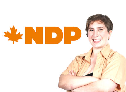 NDP's Emma is young,determined and energetic