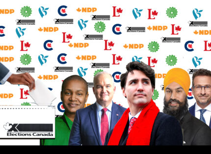 The Leaders vying to become  prime minister of Canada